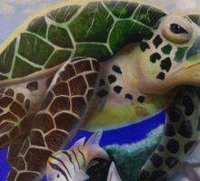 Marine Life Series #1 - Sea Turtle Sticker