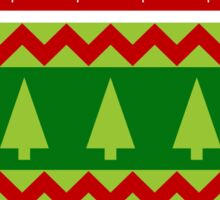 UGLY SWEATER HOLIDAY STICKER Sticker