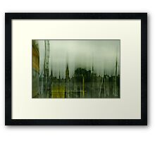 Motion Blur: London: Southbank No. 2 Framed Print