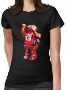 Bibot Robot Womens Fitted T-Shirt