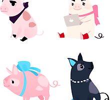 Piggies by Ennemme
