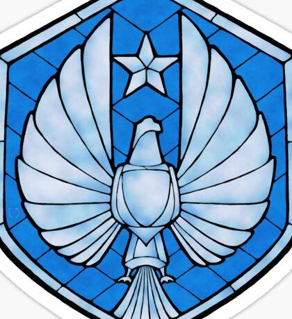PPDC SHIELD - LG STICKER - BLUE Sticker