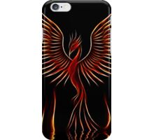 Out of the flames iPhone Case/Skin