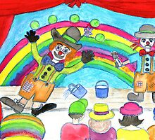 clowning around by Hbeth