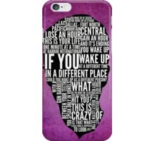 Typography Narrator iPhone Case/Skin
