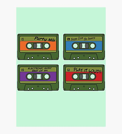 Teenage Mix Tapes Photographic Print