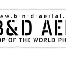 Logo Sticker BnD Aerial Sticker