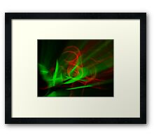 ©NLE Red Green II Framed Print