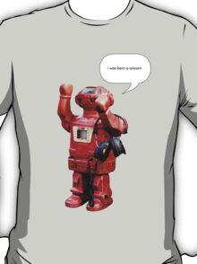 Bibot Robot- i was born a unicorn T-Shirt