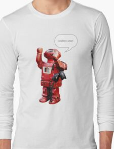 Bibot Robot- i was born a unicorn T-Shirt