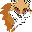 An illustration of a fox by StudioRenate