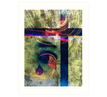 who is it that I am at this very moment in time Art Print