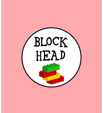 BLOCK HEAD Sticker
