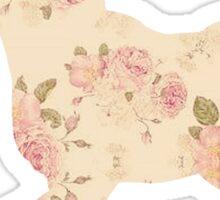 Floral Unicorn 5 Sticker