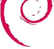 Debian sticker by carrascord