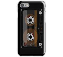 Retro Music Cassette Tape iPhone Case/Skin