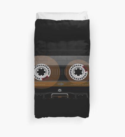 Retro Music Cassette Tape Duvet Cover