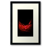 ©NLE Aureal Red IV Framed Print