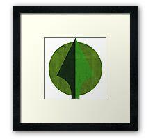 An Arrow head Framed Print
