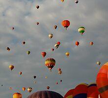 Balloon Festival (2) by Nicole  Markmann Nelson