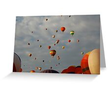 Balloon Festival (2) Greeting Card