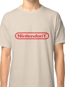 We Don't Make New Games Classic T-Shirt
