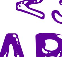 I <3 Dabs Sticker