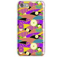 Chiyogami Lavender & Saffron [iPhone / iPod Case & Print] iPhone Case/Skin
