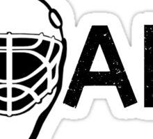 Ice Hockey Goalie Sticker