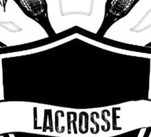Lacrosse Wings Sticker