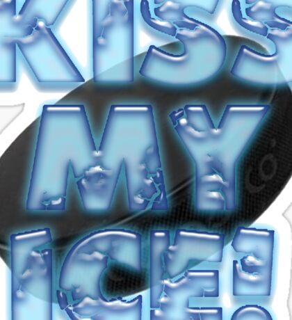 Kiss My Ice Sticker