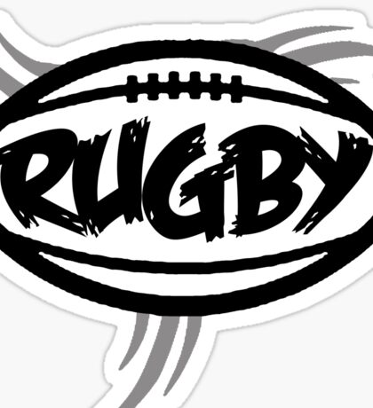 Rugby Tribal Sticker