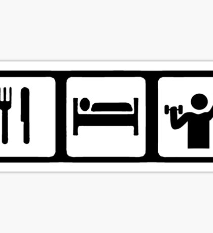 Eat, Sleep, Lift Sticker