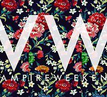Vampire Weekend // MVOTC Floral by rebeccaaasmith