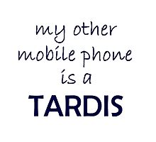 My other mobile phone TARDIS Doctor Who by susanmarie8