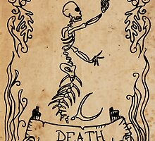 Mermaid Tarot: Death by SophieJewel