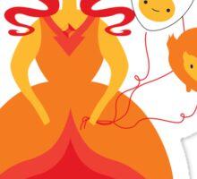 Flame Love Sticker