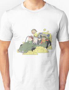 Stardust Crusaders on Car T-Shirt