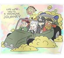 Stardust Crusaders on Car Poster