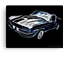 1967 Ford Mustang Shelby GT500  Canvas Print