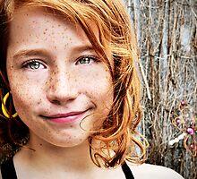 One Yellow Earring by Carol Knudsen