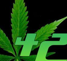 420 Leaf Sticker