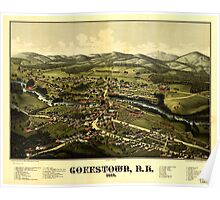 Panoramic Maps Goffstown NH 1887 Poster
