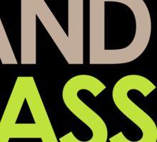 Drum & Bass Lover Sticker
