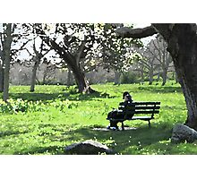 Spring in the Park Photographic Print