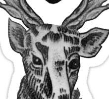 Louis Tomlinson Stag Tattoo Sticker