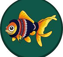 Goldfish John Watson by WhoGroovesOn