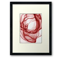 ©NLE Aureal Red I Framed Print