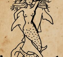 Mermaid Tarot: Strength Sticker