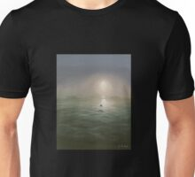 Seagulls in the mist Unisex T-Shirt